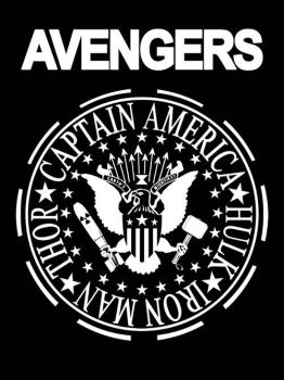 I Wanna Be An Avenger by markwelser