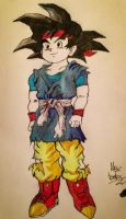 Goku Jr. by DetectiveDuckMan