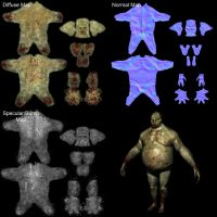 Troll 3D model maps by SolidAlexei