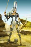 Fran: Hunting in the Desert by silverlife