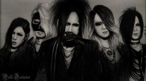 the GazettE Art by pollidenister