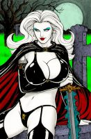 Lady Death - Colour3 - Rplatt by Drazhar24