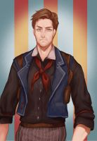 Booker DeWitt by pop2810