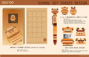 School Set Series Design 2 by jmanggala