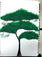 Green Pine tree by ExcaliburZ