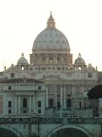 Rome - St Peter's Basilica by PhilsPictures
