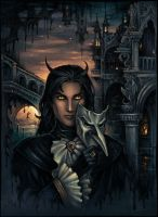 Demon in Venice by Candra