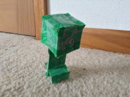 Creeper from minecraft by Drakethehedgehog1