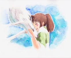 Spirited Away by Yoshie8
