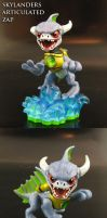 Skylanders articulated Zap by Jin-Saotome