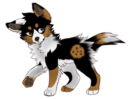 Cookies Puppy Adoptable :CLOSED: by Okami-Heart