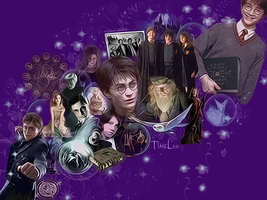HARRY POTTER TIMELINE by VaL-DeViAnT
