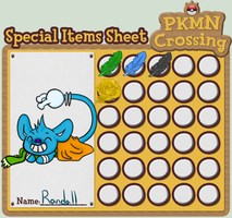 Randall's Special Items Chart by CaptainButter