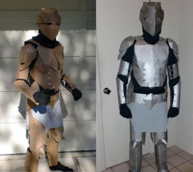 Armor: before and after by Ourobouros434