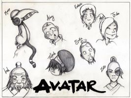 Avatar: Legend of Aang by Boxing-Fox