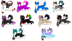 Wolf Breedables by aquaticAssassin