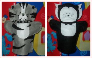 CATS Puppets: Misto and Munkus by kirstenlouise