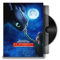 How to Train Your Dragon Folder Icon by musacakir