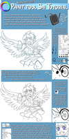 Basic Paint Tool SAI Tutorial: Kid Icarus by Kanokawa
