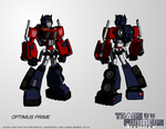 Transformers:IGNITION - Optimus Prime (Robot Mode) by KrisSmithDW