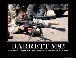The Barrett M82 by jmig3