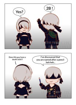 Nier Automata: Names by luffie