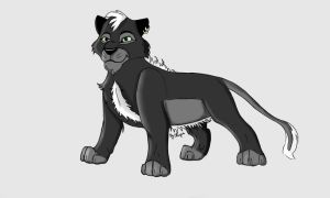 Black Lion by CatChupa