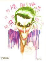 25 Days of DC - the Joker by JeremyTreece