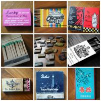 Matchbox collage by randomsketchfactory