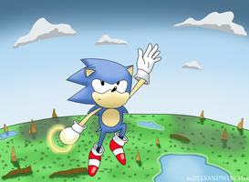 Sonic CD jump by xRubiMalonex