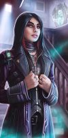 Shadowrun Archetype Ghosthunter Mage by KARGAIN