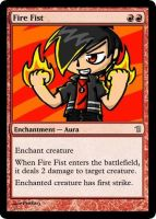 MtG: Fire Fist by Overlord-J