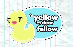 yellow fellow by WarholFan