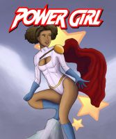 New  Power Girl, classic costume! by Hichcoot