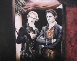 Lestat and Louis by Artem-Anima