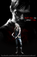 Beth and Daryl poster by twdmeuvicio