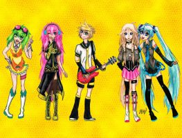 .Favourite Vocaloids. by MikiMonster