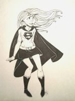 Supergirl by Shellsweet