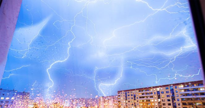 Lightning Storm composite by puu4ux