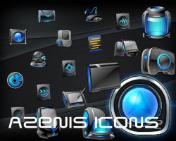Azenis Icons by Jameshardy88
