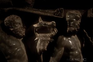 Heracles at Knossos by Hermetic-Wings