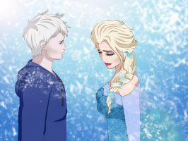Jack and Elsa by adderalleri