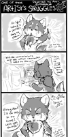 .:PA Comic: One of these Artist's struggles:. by Mayasacha