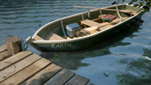 The boat's name is Earth by Hungy78