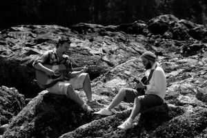 Duelling Guitars by bcdirector
