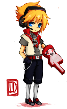 LoL: Chibi TPA Ezreal by Izzu-shi