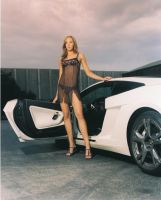 Emily graduated Lamborghini by testshoot