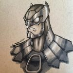 Owl-Man : Traditional by r-kedvale