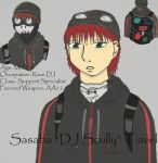 DJ Scully...? by Green-eyed-Gryphon