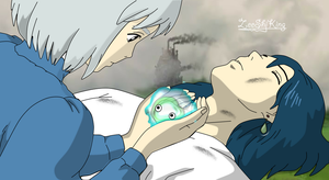 Howl's moving Castle by ZeeShiKing
